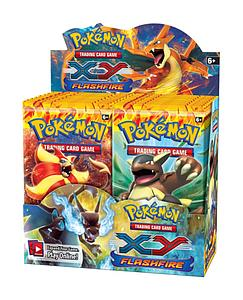 Pokemon Trading Card Game: XY Flashfire Booster Box (36 Packs)