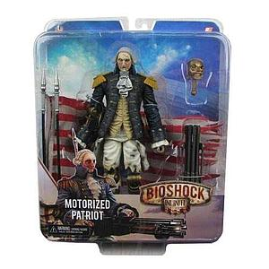 Bioshock Infinite Benjamin Franklin Automated Patriot Figure