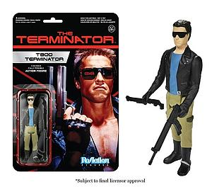 ReAction Figures Terminator Series The T-800 Terminator (Retired)