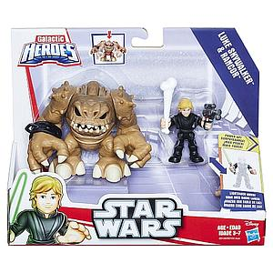 Star Wars Galactic Heroes Luke Skywalker & Rancor