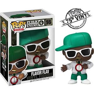 Pop! Music Public Enemy Vinyl Figure Flavor Flav #16 (Retired)
