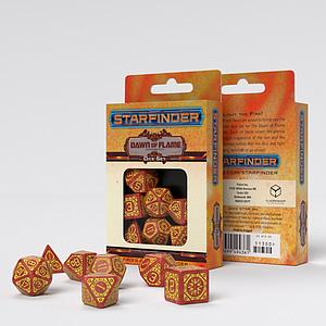 Starfinder Dice Set: Dawn of Flame