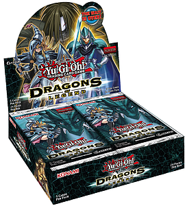 Yugioh Trading Card Game: Dragons of Legend Booster Box