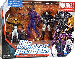 "Marvel Universe 3 3/4"" Team Pack Series - West Coast Avengers (CDN Packaging)"