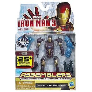 "Iron Man Assemblers Interchangeable Armour System 3 3 3/4"": Stealth Tech Iron Man"