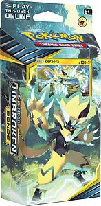Pokemon Trading Card Game: Sun & Moon (SM10) Unbroken Bonds Theme Deck - Lightning Loop (Zeraora)