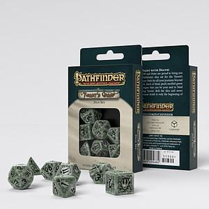 Pathfinder's Tyrant Grasp Dice Set