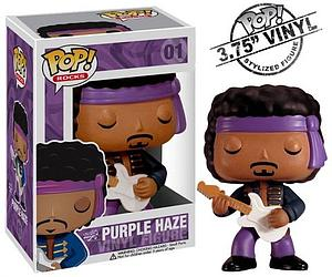 Pop! Rocks Vinyl Figure Jimi Hendrix Purple Haze #01 (Retired)