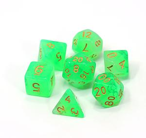 Poly RPG 7-Dice Set: Time Gem