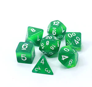 Poly RPG 7-Dice Set: Feywild