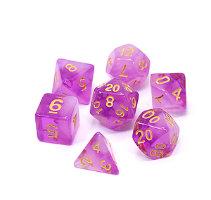 Poly RPG 7-Dice Set: Power Gem