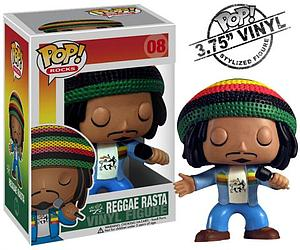Pop! Music Vinyl Figure Reggae Rasta #08 (Retired)