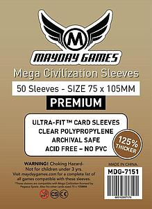 Premium Mega Civilization Sleeves (75mm x 105mm)