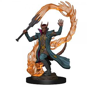 Dungeons & Dragons Icons of the Realms Premium Painted Miniatures: Tiefling Sorcerer (Male)