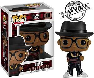 Pop! Music Run DMC Vinyl Figure DMC #10 (Retired)