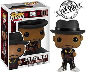 Pop! Music Run DMC Vinyl Figure Jam Master Jay #11 (Retired)