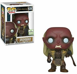 Pop! Movies Lord of the Rings Vinyl Figure Grishnakh #636 2019 Spring Convention Exclusive
