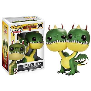 Pop! Movies How to Train Your Dragon 2 Vinyl Figure Belch & Barf #99 (Vaulted)