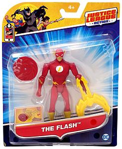 "Justice League Action JLA Power Connects 4.5"" Action Figure The Flash"