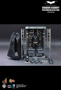 The Dark Knight Movie Masterpiece Series 1/6 Scale: Batman Armory with Batman