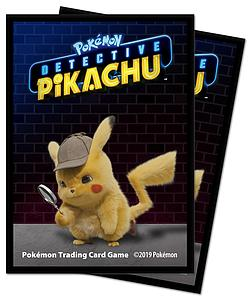 Pokemon Detective Pikachu Pikachu Standard Card Sleeves (66mm x 91mm)