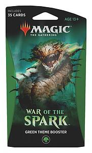 Magic the Gathering: War of the Spark -  Green Theme Booster