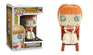 Pop! Movies Annabelle Comes Home Vinyl Figure Annabelle (in Chair) #790