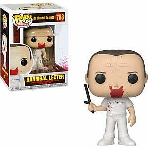 Pop! Movies The Silence of the Lambs Vinyl Figure Hannibal Lecter (Blood) #788