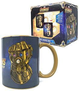Funko Marvel Avengers Infinity War Heat Change Mug Thanos Collector Corps Exclusive