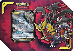 Pokemon Trading Card Game: Power Partnership Tag Team Tin - Garchomp & Giratina-GX