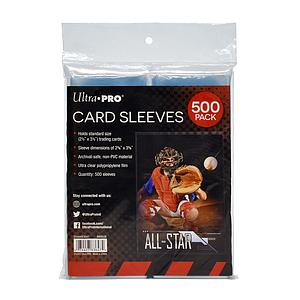 Card Sleeves 500-pack Standard Size