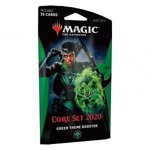 Magic the Gathering: Magic Core Set 2020 Theme Booster - Green