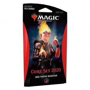 Magic the Gathering: Magic Core Set 2020 Theme Booster - Red