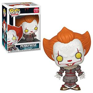 Pop! Movies IT Chapter Two Vinyl Figure Pennywise (Open Arms) #777