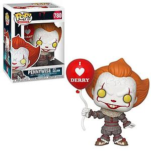 Pop! Movies IT Chapter Two Vinyl Figure Pennywise with Balloon #780