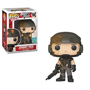 Pop! Movies Starship Troopers Vinyl Figure Johnny Rico #735 2019 Summer Convention Exclusive