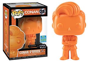 Pop! Conan Vinyl Figure Conan O'Brien (Orange) #25 2019 Summer Convention Exclusive