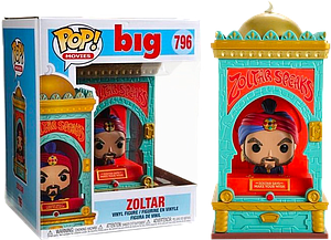 "Pop! Movies Big Vinyl Figure 6"" Zoltar"
