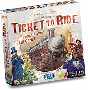 Ticket to Ride: 15th Anniversary Limited Special Edition
