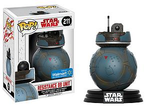 Pop! Star Wars Vinyl Bobble-Head Resistance BB Unit #211 Walmart Exclusive