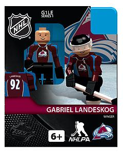 NHL Hockey Minifigures: Gabriel Landeskog (Colorado Avalanche)
