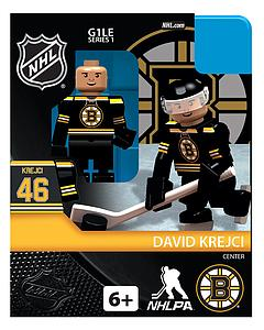 Hockey Minifigures: David Krejci (Boston Bruins)