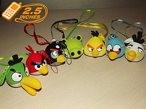 Plush Toy Angry Birds Phone Strap