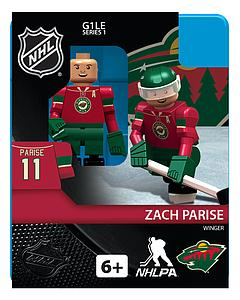 Hockey Minifigures: Zach Parise (Minnesota Wild)