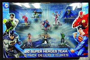 DC Super Heroes Team Deluxes: 8-Pack