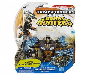 Transformers Prime Beast Hunters Deluxe Class: Night Shadow Bumblebee (Canadian Packaging)