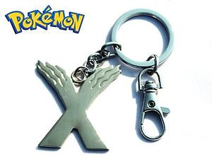 "Pokemon ""X"" Necklace"