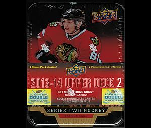 2013-14 NHL Upper Deck Series 2 Tin