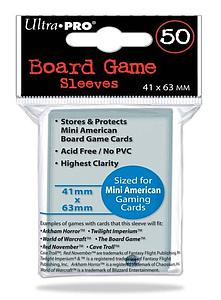 Mini American Card Sleeves (41mm x 63mm)