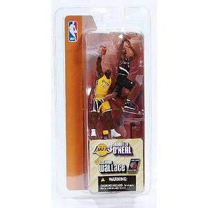 "NBA 3"" 2-Pack Series 1: Rasheed Wallace & Shaquille O'Neal"